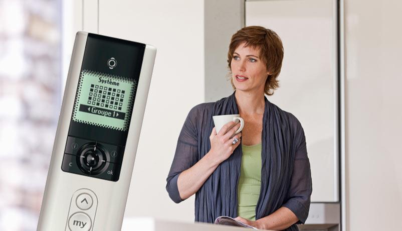 Fernbedienung für Hausautomation